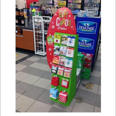 Popon Image Gallery Gift Card Holders Greeting Cards Floor Display